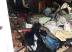Quarto da residência totalmente destruído. Foto: Divulgação Bombeiros