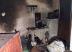 Todos os móveis foram destruídos pelas chamas. Foto: Divulgação Bombeiros
