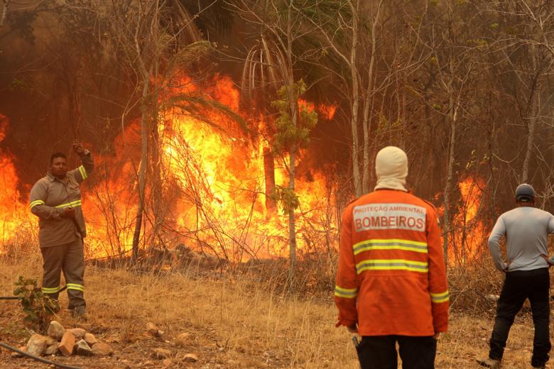 Incêndios na reserva Serra do Amolar