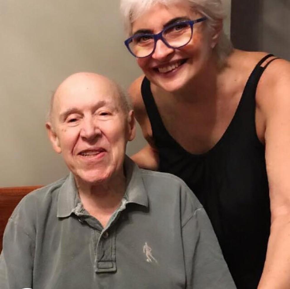Orlando Duarte e Esposa