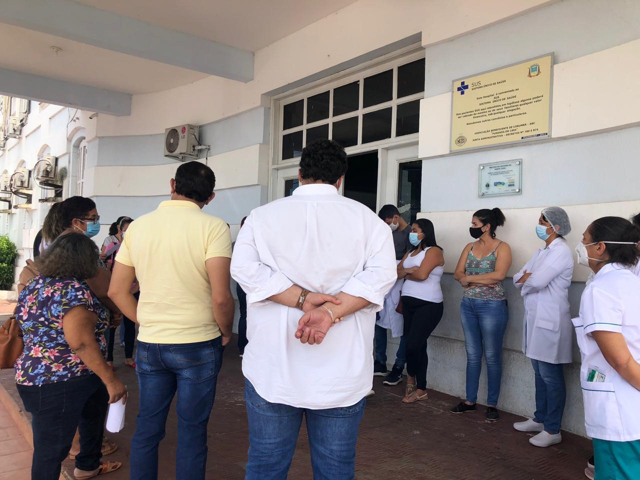 Sindicato dos Enfermeiros de MS esteve no município para fiscalização e encontraram a discrepância