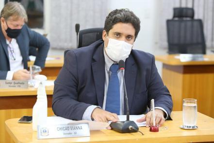 O pedido do vereador Chicão é para que o senador Nelsinho Trad, interceda em favor do município de Corumbá.