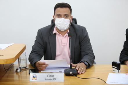 Elinho também cobrou pela reativação do chafariz do Porto Geral.