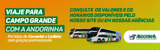 Andorinha - Viaje para Campo Grande com a Andorinha