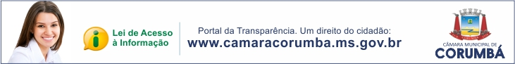 Câmara de Corumbá - Transparência
