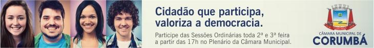 Câmara de Corumbá - Democracia