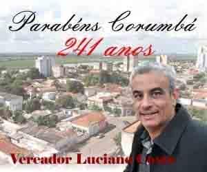 221 anos de Corumbá - vereador Luciano Costa