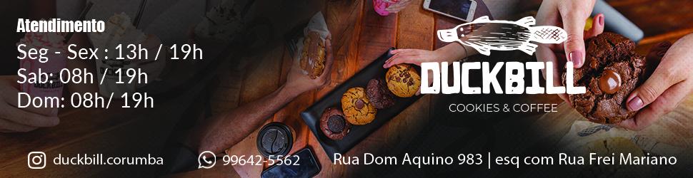 Duckbill biscoitos e café