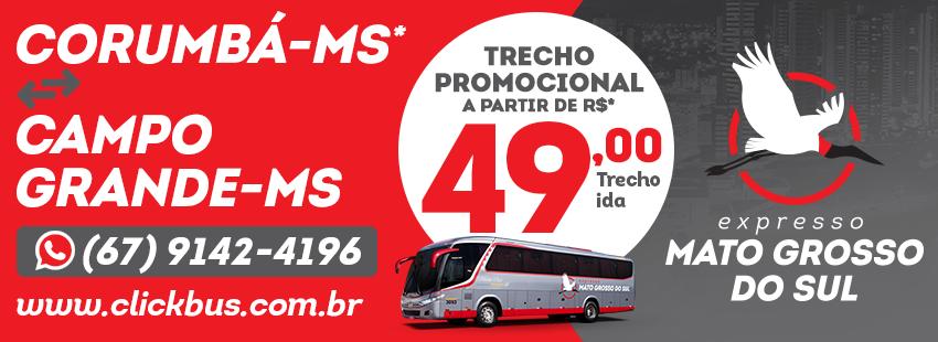 Expresso Mato Grosso - Promoção de Junho