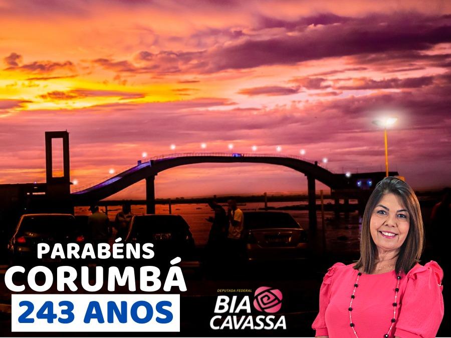 Bia Cavassa - Aniversário de Corumbá